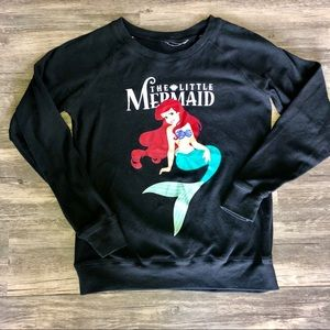 Reversible small The Little Mermaid sweatshirt